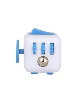 Игрушка антистресс Fidget Cube, аква Neocube. Цвет: синий
