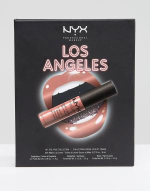 NYX Professional Makeup Подарочный набор косметики Make Up City Kits. Цвет: мульти