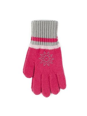 Перчатки Веселый ветер. Цвет: малиновый