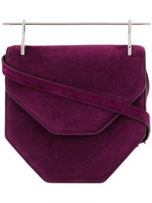 Amor Fati shoulder bag M2malletier. Цвет: розовый и фиолетовый