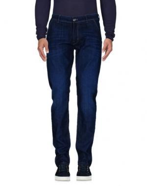 Джинсовые брюки-капри PT05. Цвет: синий