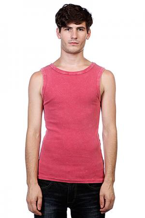 Майка  Faded Tanktop Ruby Urban Classics. Цвет: красный