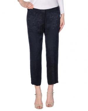 Повседневные брюки E-GÓ. Цвет: темно-синий