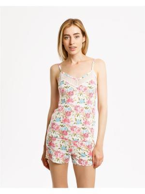 Пижама Mark Formelle. Цвет: молочный, розовый, светло-голубой