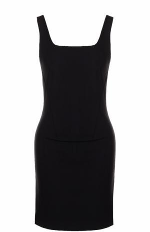 Облегающее мини-платье без рукавов Rag&Bone. Цвет: черный