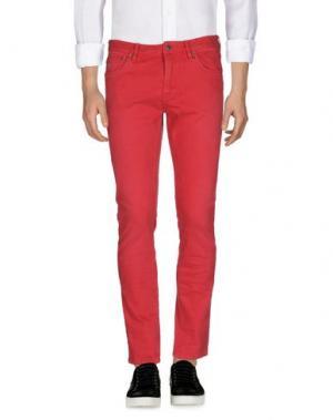 Джинсовые брюки SCOTCH & SODA. Цвет: красный