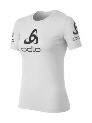 Футболка Odlo. Цвет: белый