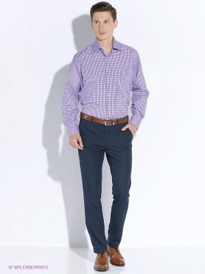 Рубашка мужская LIVANSO. Цвет: фиолетовый