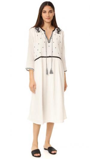 Платье Lakewood dRA. Цвет: белый