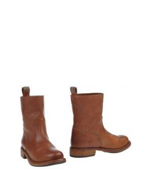 Полусапоги и высокие ботинки WALKER. Цвет: коричневый