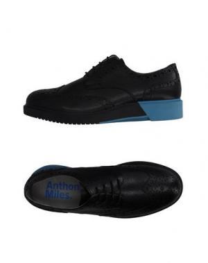 Обувь на шнурках ANTHONY MILES. Цвет: черный
