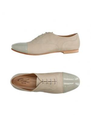 Обувь на шнурках CORVARI. Цвет: бежевый