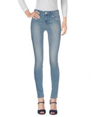Джинсовые брюки ANDREA MORANDO. Цвет: синий