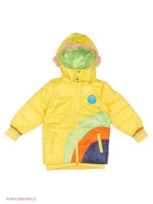 Куртка TOM and JERRY. Цвет: желтый