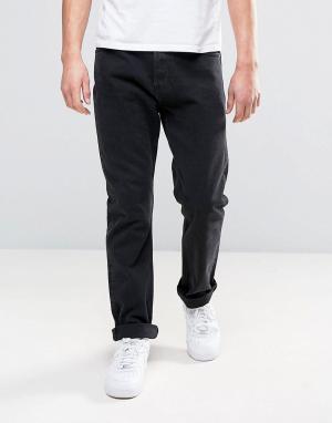 Weekday Черные свободные джинсы Vacant. Цвет: черный