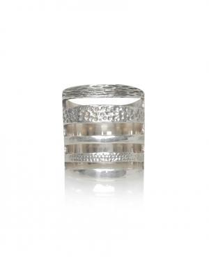 Серебряное кольцо Pamela Love. Цвет: серебряный