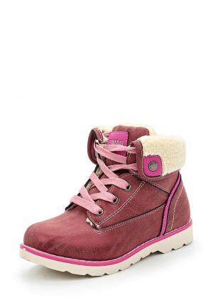 Ботинки Patrol. Цвет: розовый