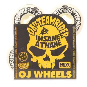 Колеса для скейтборда  Team Rider Ez Insaneathane White/Black 101A 50 mm Oj. Цвет: белый,черный