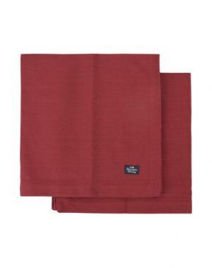 Салфетка LEXINGTON. Цвет: красно-коричневый