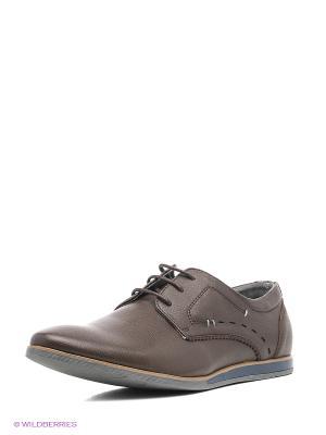 Ботинки Tesoro. Цвет: темно-коричневый