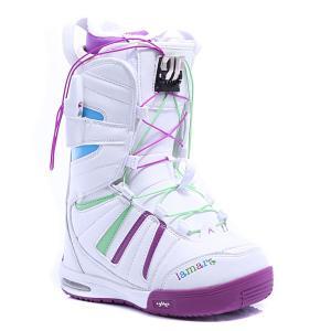 Ботинки для сноуборда женские  Express Womens White Lamar
