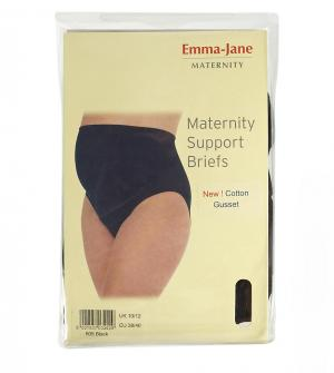 Emma Jane Платье для беременных. Цвет: черный