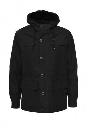 Куртка утепленная Globe. Цвет: черный