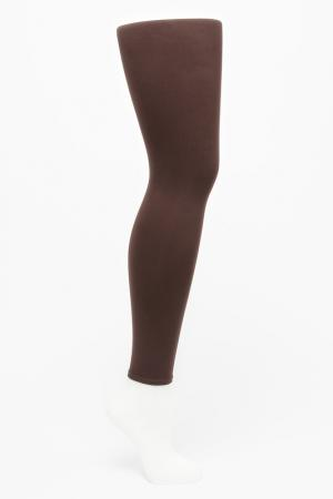 Антицеллюлитные леггинсы Slimn color Slim'n. Цвет: коричневый