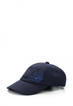 Бейсболка EA7. Цвет: синий