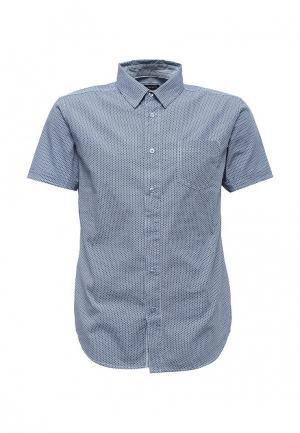 Рубашка Fresh Brand. Цвет: синий