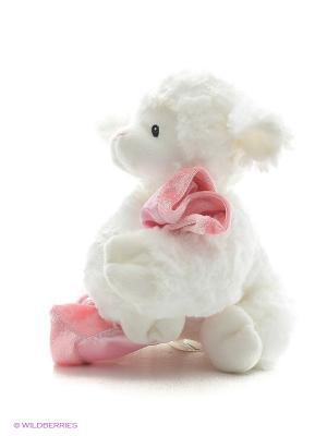 Игрушка мягкая (Prayer Winky Lamb Pink, 15 см). Gund. Цвет: белый
