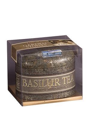 Чай Basilur САД КАМНЕЙ большой Цейлон Ceylon FBOP. Цвет: темно-серый