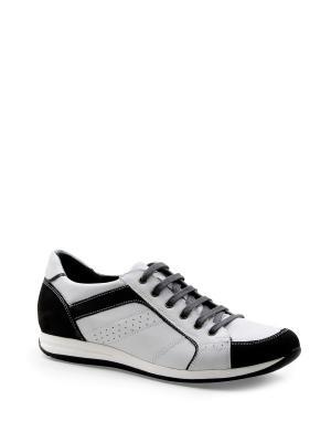 Кроссовки BELWEST. Цвет: белый, темно-серый