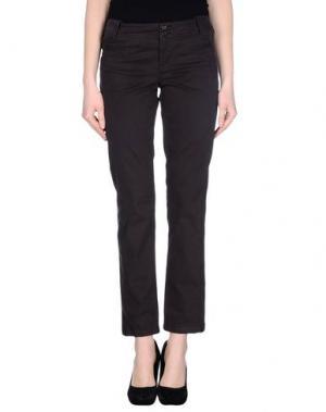 Повседневные брюки NVL__NUVOLA. Цвет: темно-коричневый