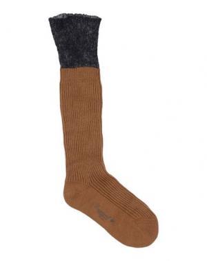 Носки DSQUARED2. Цвет: верблюжий