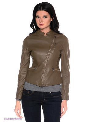 Куртка Compagnia Delle Pelle. Цвет: коричневый