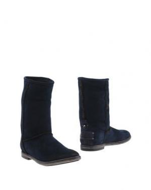 Полусапоги и высокие ботинки CORVARI. Цвет: темно-синий