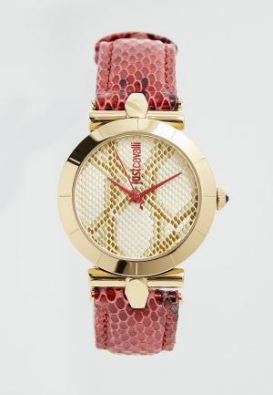 Часы Just Cavalli. Цвет: красный