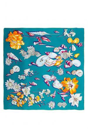 Шелковый платок 183353 Moltini. Цвет: разноцветный