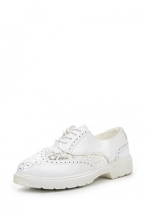 Ботинки Diamantique. Цвет: белый