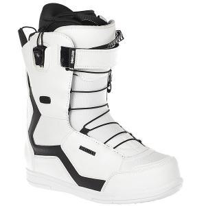 Ботинки для сноуборда  6.3 Pf fw18 white Deeluxe. Цвет: белый