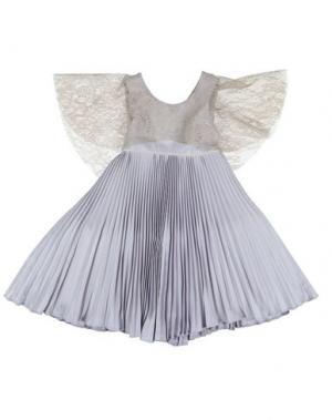 Платье LA STUPENDERIA. Цвет: сиреневый