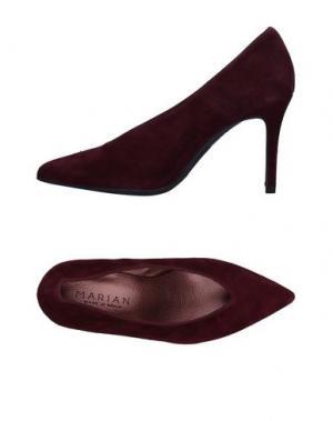 Туфли MARIAN. Цвет: красно-коричневый