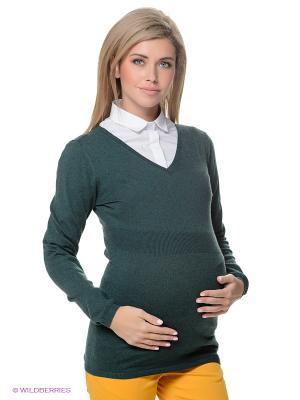Пуловер ESPRIT. Цвет: зеленый