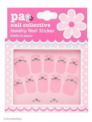 Наклейки для ногтевого дизайна Принцесса PA NAIL COLLECTIVE Jewelry Sticker Princess presents since 2004 ETERNAL. Цвет: серебристый