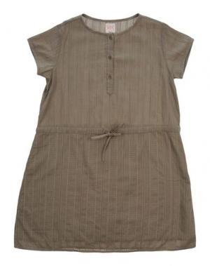 Платье SWILDENS. Цвет: зеленый-милитари