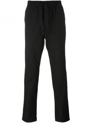 Зауженные брюки Tomas Maier. Цвет: чёрный