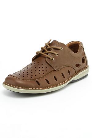Туфли SHOIBERG. Цвет: зеленый