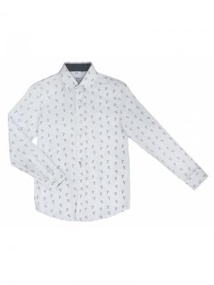 Рубашка BORELLI. Цвет: белый