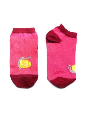 Носки укороченные Big Bang Socks. Цвет: розовый